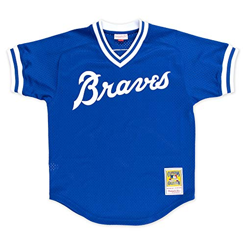 Mitchell & Ness Dale Murphy Atlanta Braves Men's Authentic 1981 BP Jersey - Blue
