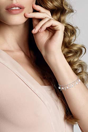 Buy silver dangle rosary bracelet