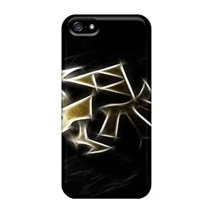 Special Design Back Zelda Triforce Gold Phone Cases Covers For Iphone 5/5s