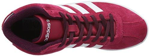 Adidas Vlneo Domstol Midten W Sko Sneaker Sneakers Trænere Kvinder Rød Ruskind Rød YFf3qdWbSI