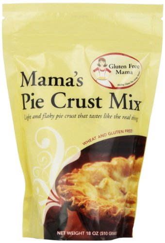 Gluten Free Mama, Mama's Pie Crust Mix, 18 Ounce Pouch (Pack of 6)