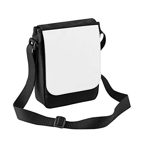 Reporter Bag 2 Litres Bagbase Mini Black Digital Sublimation IBq1t4