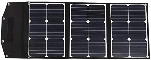 Alomejor Monokristallines Solarpanel Ladegerät 60W Solargenerator für den Außenbereich