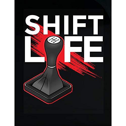 Kellyww Shift Life Clutch Stick Manual Transmission Pedal - Transparent Sticker