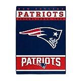 "NFL New England Patriots ""12th Man"" Raschel Throw"