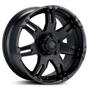 - Ultra Wheel 238B Gauntlet Black Wheel (18x9