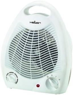 Heller HL 706 Calentador de ventilador Gris 2000 W - Calefactor ...