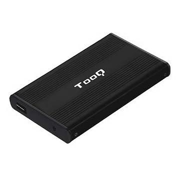 TooQ TQE-2510B - Carcasa para Discos Duros HDD de 2.5