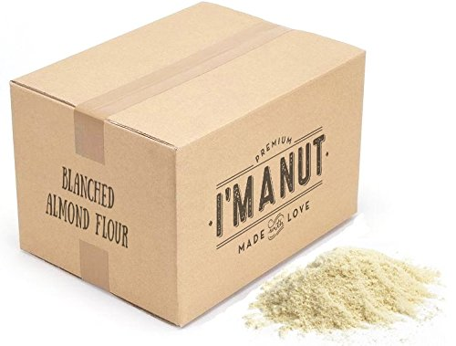 Blanched Almond Flour 25 lbs Gluten Free Certified Kosher I'm A Nut