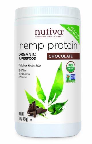 Nutiva Organic Protein Chocolate Ounce