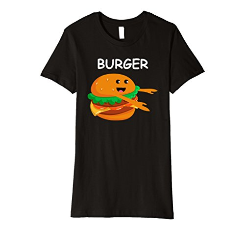 Womens Matching Halloween PREMIUM Shirt BURGER and Fries for Couple XL (Matching Couple Outfits For Halloween)