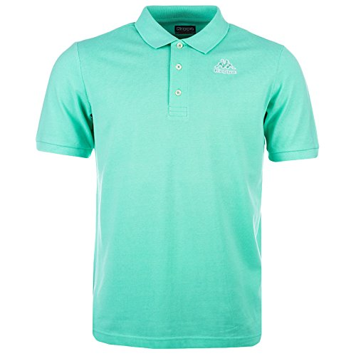 kappa-omini-mens-casual-retro-classic-polo-shirt-green-xl