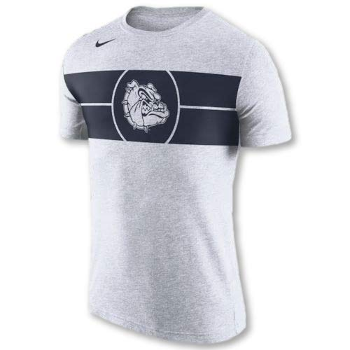 Nike Gonzaga Bulldogs Tri-Blend Basketball Logo T-Shirt (Medium) ()
