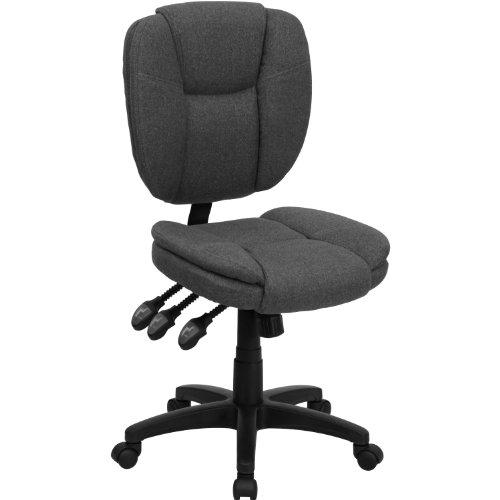 MFO Mid-Back Gray Fabric Multi-Functional Ergonomic Task Chair price