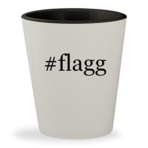 Price comparison product image #flagg - Hashtag White Outer & Black Inner Ceramic 1.5oz Shot Glass