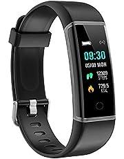 moreFit Activity Tracker, Fitness Tracker Orologio Contapassi Braccialetto Calorie Impermeabile Pedometro Monitoraggio Sport Smart Watch wirstband per Uomo Donna Bambino