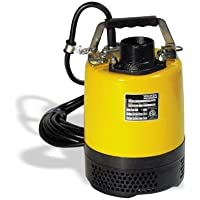 PS2 500 Single Phase Submersible Pump 220V/60Hz 2/3HP, 3.0A by Wacker Neuson