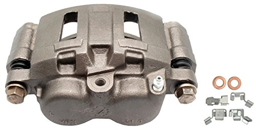 ACDelco 18FR1373 Professional Front Driver Side Disc Brake Caliper Assembly without Pads (Friction Ready Non-Coated), Remanufactured
