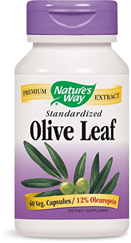 Nature's Way Olive Leaf, 60 Capsules (Way Natures Extract)