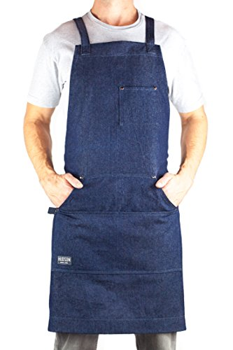 kitchen apron with pockets - 7