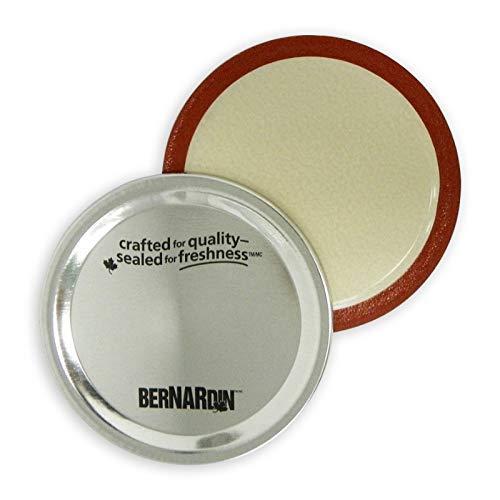 Bernardin Standard (Regular) Mouth Mason Jar SNAP Lids - Bulk Pack of 340 Lids by Bernardin