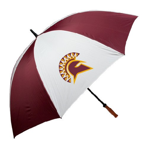 St Thomas Aquinas 62 Inch Maroon/White Umbrella 'Official Logo' by CollegeFanGear