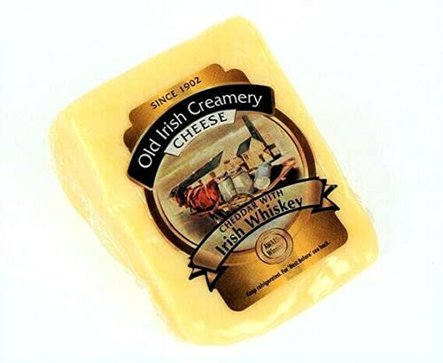 Original Irischer Cheddar Käse mit Irish Whiskey herzhaft 150g