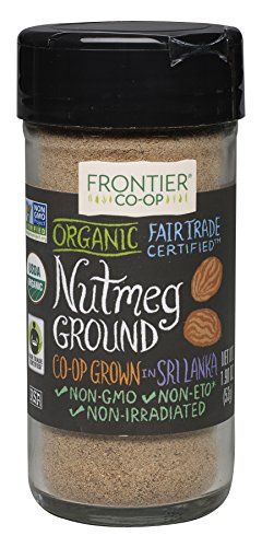 Frontier Nutmeg Ground (Frontier Ground Organic Fair Trade, Nutmeg, 1.9 Ounce)