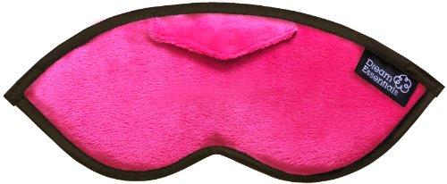 Dream Essentials Opulence Sleep Mask with Earplug Pocket and Earplugs, Plush - Opulence Window