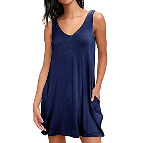Classic Tee Graphic Jordan Mens (FEITONG Women's Sleeveless Pockets Casual Swing T-Shirt Dresses Summer Sexy Solid Mini Dress(Medium,Blue))