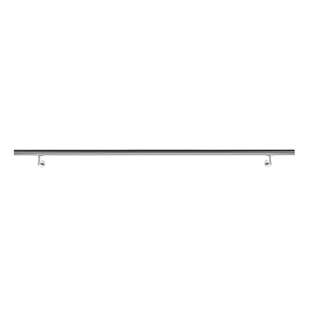 WilTec Kit Main Courante Rambarde avec Support Mural 180 cm Escaliers Poign/ée Acier Inoxydable V2A