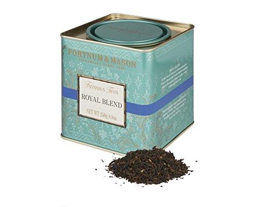 Fortnum & Mason British Tea, Royal Blend, 250g Loose English Tea in a Gift Tin Caddy by Fortnum & Mason