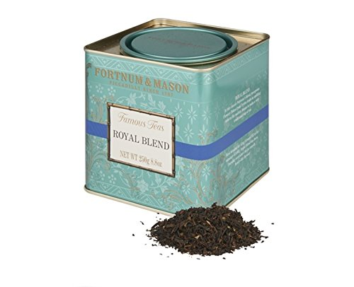 Fortnum & Mason British Tea, Royal Blend, 250g Loose English Tea in a Gift Tin Caddy
