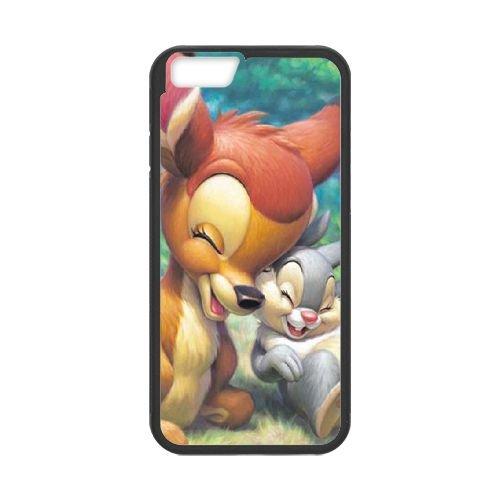 Bambi coque iPhone 6 4.7 Inch Housse téléphone Noir de couverture de cas coque EBDOBCKCO10700