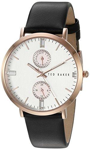 Ted Baker Women's 10024713 Dress Sport Analog Display Japanese Quartz Black Watch
