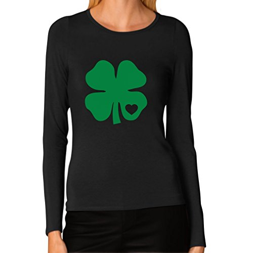 Irish Shamrock Green Clover Heart St. Patrick's Day