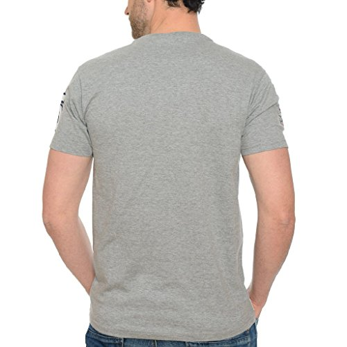 Gris Tshirt taille Homme Geographical Clair Jasmin L Norway IZOfq5xw54