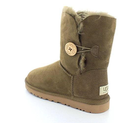 UGG Australia Bailey Button, Women's Boots Green (Verde (Dry Leaf))