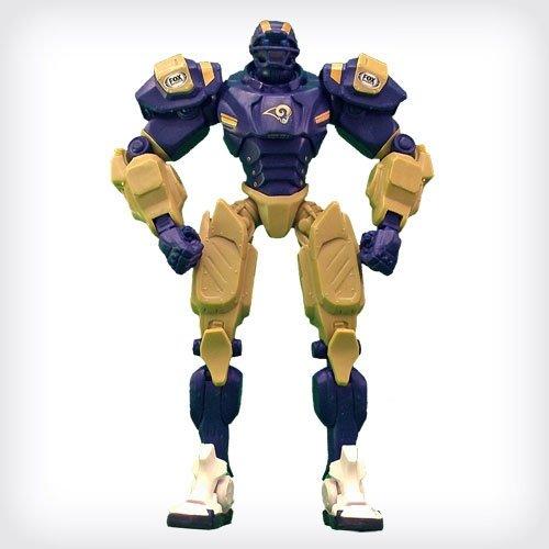 "St. Louis Rams 10"" Team Cleatus FOX Robot NFL Football Action Figure Version 2.0"