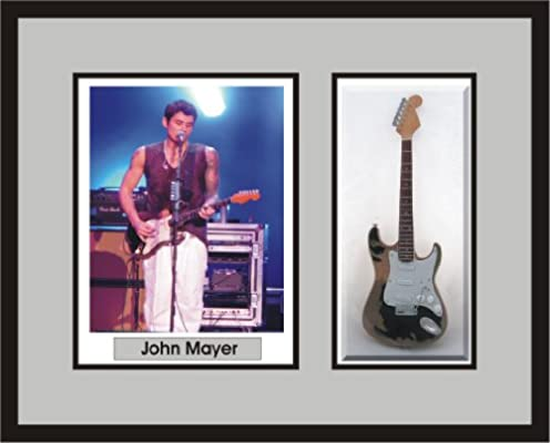 3bef04cd83f Amazon.com - JOHN MAYER Guitar Shadowbox Frame Monster Relic - Shadow Boxes