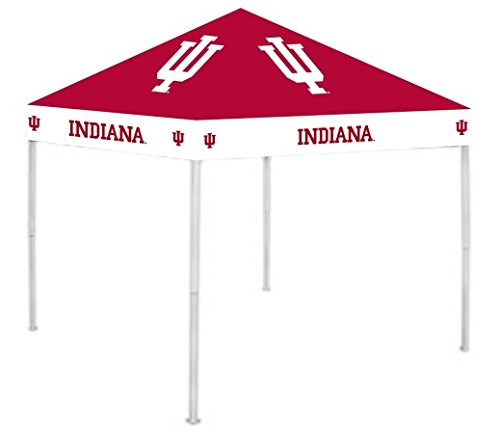 Rivalry NCAA Indiana Hoosiers 9' x 9' Canopy, Large, White ()