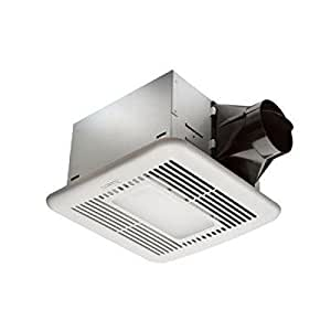 hampton bay 80 cfm ceiling exhaust fan with led light and. Black Bedroom Furniture Sets. Home Design Ideas