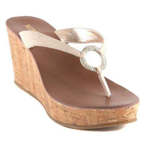 Sandalo Da Donna Con Glitter Glitterato Xoxo