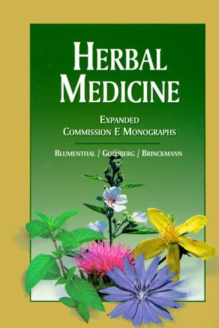 Read Online By Author Herbal Medicine: Expanded Commission E Monographs (1st Edition) pdf
