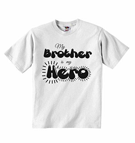 4 Ropa a os de Camiseta 5 para ni Brother Is Hero os Blanco as personalizadas ni Camisetas My unisex qTx71Z4