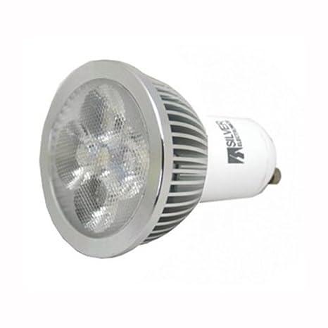 Silver 440410 - Lampara LED GU10 5W L.Calida 220V: Amazon.es: Iluminación