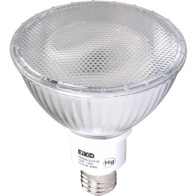 Eiko PAR38/23/41Kx25 PAR38/23/41K Fluorescent PAR38 23W 120V 4100K E26 Base Light Bulb (Pack of 25) by Eiko