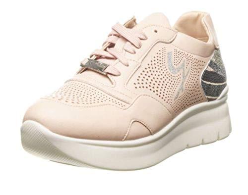 Sneakers Con Pegva6042whbp20 Nude Pelle rose In Lustrini Roma Gattinoni aRpwHqa1