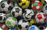CANDY Chocolate Footballs (500g bag)...