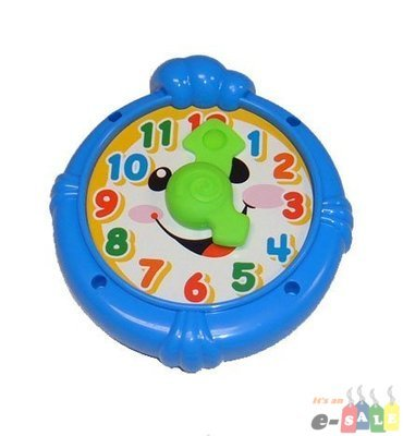 Fisher Price Laugh and Learn Home - Clock by Fisher-Price